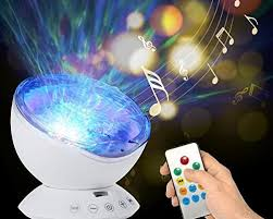 baby night light projector with music projector night lights