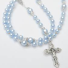 baptism rosary 10 best baby boy baptism rosaries images on rosaries