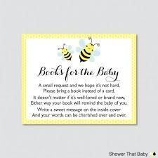books instead of cards for baby shower poem baby shower baby shower bring a book book baby shower invitations