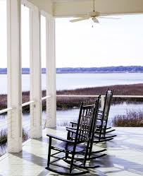 atlanta post and rail porch beach style with deck traditional