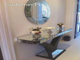 Quartz Console Table Quartz Walnut Mirrored Console Table Shropshire Design Quartz
