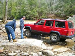 jeep tire size chart 95 jeep cherokee see pic u003c largest tire size with all stock