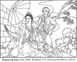 free spanish masterpiece coloring page picture 512269 coloring