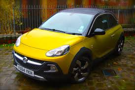 opel adam 2015 vauxhall adam rocks air review driving torque