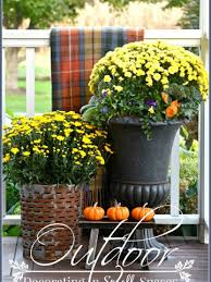 outdoor fall decorations outdoor fall decorating in small spaces stonegable
