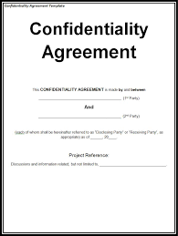 Non Disclosure Statement Template by Why Confidentiality Part 3 Francis Associatesfrancis