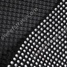 diamond mesh ribbon wholesale yellow plastic rhinestone diamond mesh ribbon