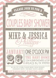 baby shower for couples baby shower coed invitations coed ba shower invites theruntime