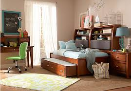 Daybed With Bookcase Santa Cruz Cherry 7 Pc Twin Bookcase Daybed Bedroom