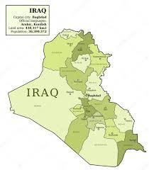 iraq map vector map of iraq stock vector tupungato 24049029