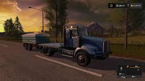 kenworth kenworth flatbed v1 ls 2017 farming simulator 2017 fs ls mod