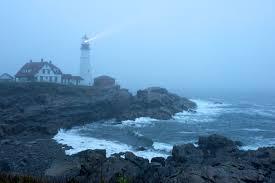 portland head light lighthouse portland head light and fog rick holliday
