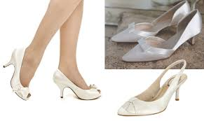 wedding shoes small heel kitten heels for brides wedding dilemma from the wol forums