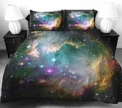 these galaxy beddings will let you sleep among the stars bored panda