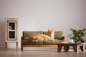 japanese artisans release a range of high quality cat furniture