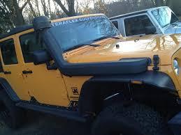 jeep snorkel install aev gen 2 snorkel installed