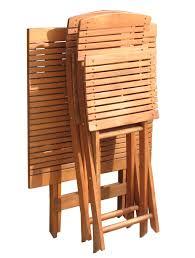 beistelltische zusammenklappbar dasversandhaus24 de balkontisch natur 70x70 cm klapptisch