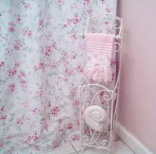 bathroom 26 shabby chic shower curtains shabby chic pink