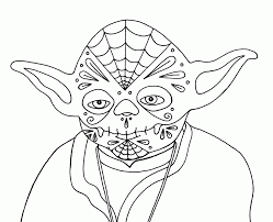 yoda printable coloring pages kids coloring