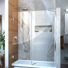 Leaking Frameless Shower Door by Frameless Shower Door Seal 3 8 Cost Doors Near Me