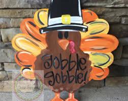 thanksgiving door etsy