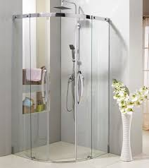 Frame Shower Door Sector Sliding Shower Door With Stainless Steel 304 Frame S S
