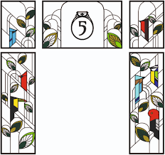 stained glass designs for doors stained glass design london door surround