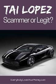 lamborghini ads the 67 step program is this a tai lopez scam everybody loves