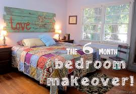 room makeover the six month bedroom makeover spoonful of imagination