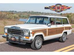 1989 jeep wagoneer interior 1989 jeep wagoneer for sale classiccars com cc 919232