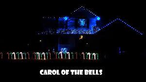 johnson family christmas lights carol of the bells johnson family christmas lights youtube