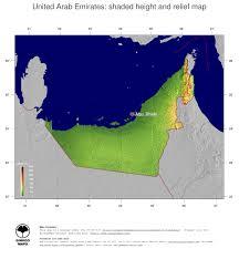 United Arab Emirates Map Map United Arab Emirates Ginkgomaps Continent Asia Region