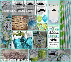 interior design view mustache themed decorations artistic color