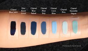 chanel blue rebel coco blue u0026 blue boy comparisons the beauty