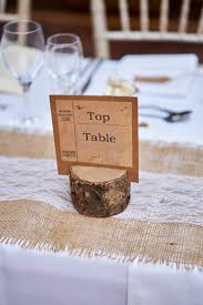 Table Name Cards by Rustic Table Name Holder With Table Name Cards Made By The Lily