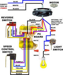 wiring a ceiling fan with light switch diagram integralbook com