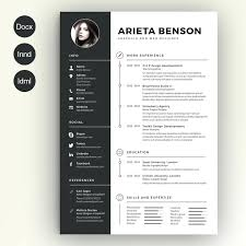 interior design resume exles interior design resume template clean resume by on creative market