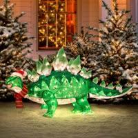 animated tinsel dinosaur decorations improvements catalog
