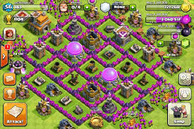 layout coc town hall level 7 vodka coc clash of clans clash of clans base designs for town