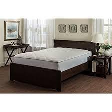 amazon com pinzon hypoallergenic overfilled microplush mattress