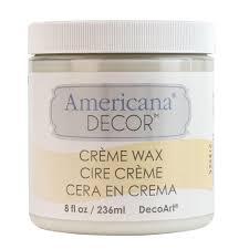 decoart americana decor 8 oz clear creme wax adm01 95 the home