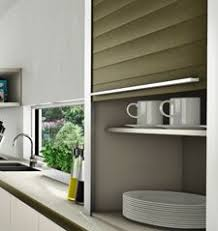 Kitchen Cabinet Door Manufacturers Space Solves Search For A Kitchen Cupboard With A Rolling Shutter