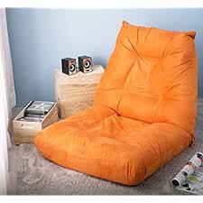 amazon com merax fabric folding chaise lounge floor gaming sofa