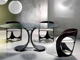 dining modern round glass dining table new dining table sets for