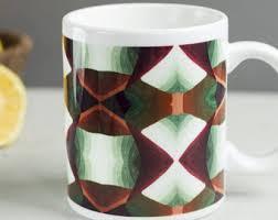 Coffee Mug Design Modern Mug Etsy