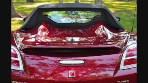 saturn sky red saturn sky rube red red line turbo 2009 youtube