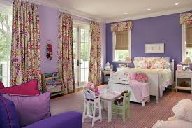 girls bedroom decorating ideas in purple shades home interior
