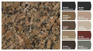 what color paint goes with brown cabinets check out these colors i just snapped brown granite