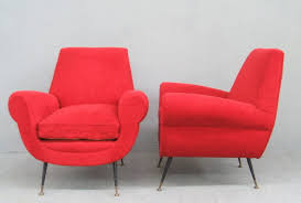 Minotti Armchair Stunning Pair Of Armchairs By Gigi Radice For Minotti For Sale At