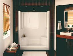 s 60 alcove shower aker by maax shower